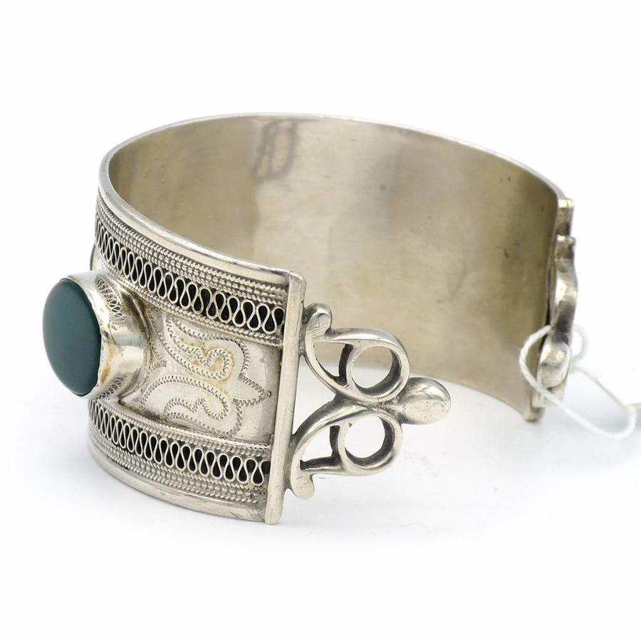 Zilveren armband met Agaat.