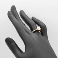 18 krt. geel gouden ring met briljant van 1,52 krt.