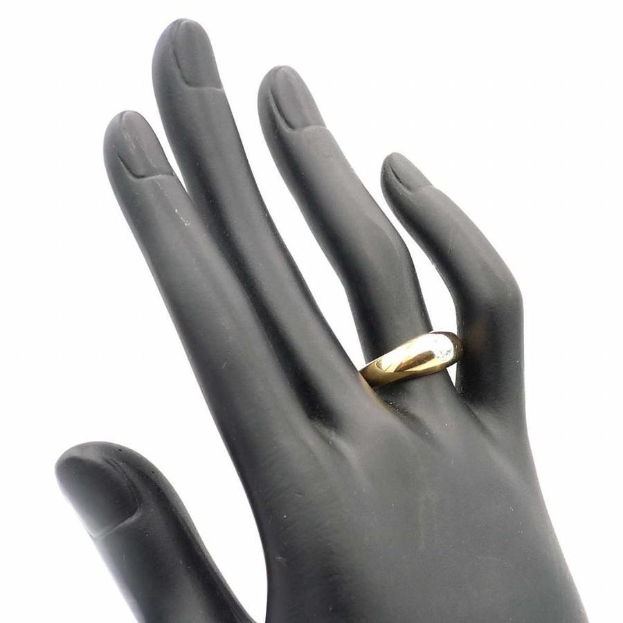 Occasion 14krt. gouden ring met 0,30crt briljanten