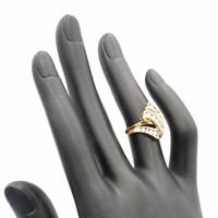 Occasion 8 krt ring met briljant