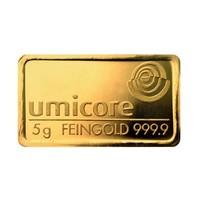 Goudbaar Umicore 5 gram