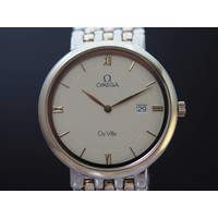 Omega de Ville st/gd quartz unisex KRH.