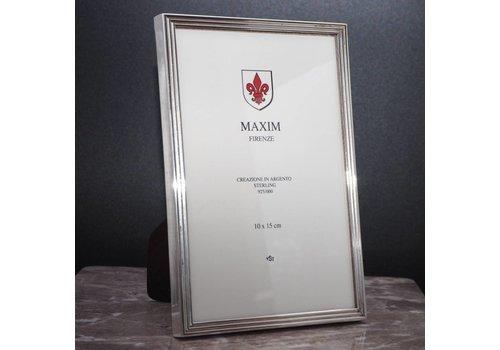 Fotolijst zilver Maxim
