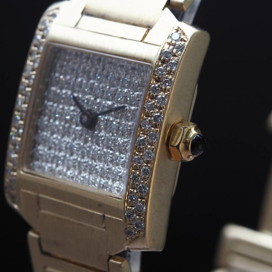 Occasion 14k dames horloge met Briljanten