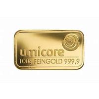 Goudbaar Umicore 100 gram