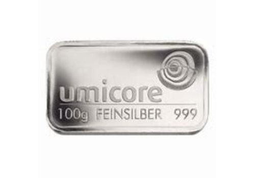 Zilverbaar 100 gram