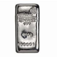Zilverbaar  250 gram