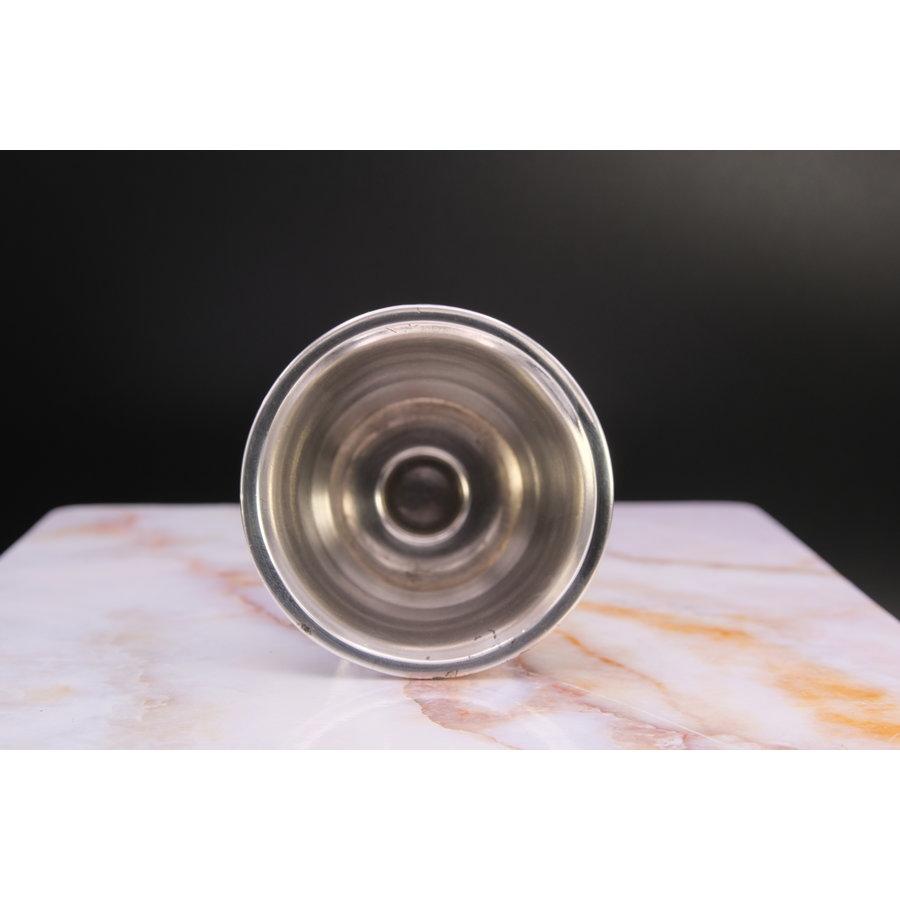 Zilveren lepelvaasje