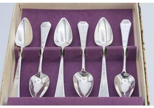 Zilveren theelepels