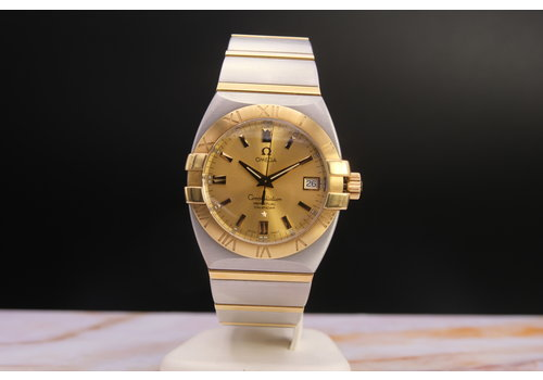 Omega Constellation OUR. staal/goud 3961204