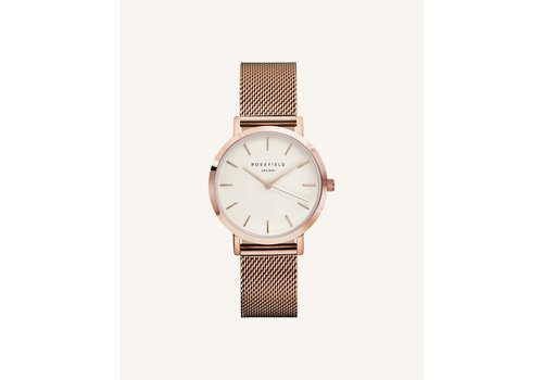 Rosefield The Tribeca White Rosegold