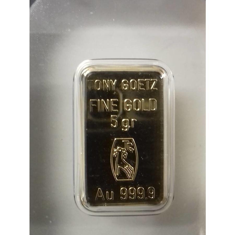 5g goudbaar Tony Goetz