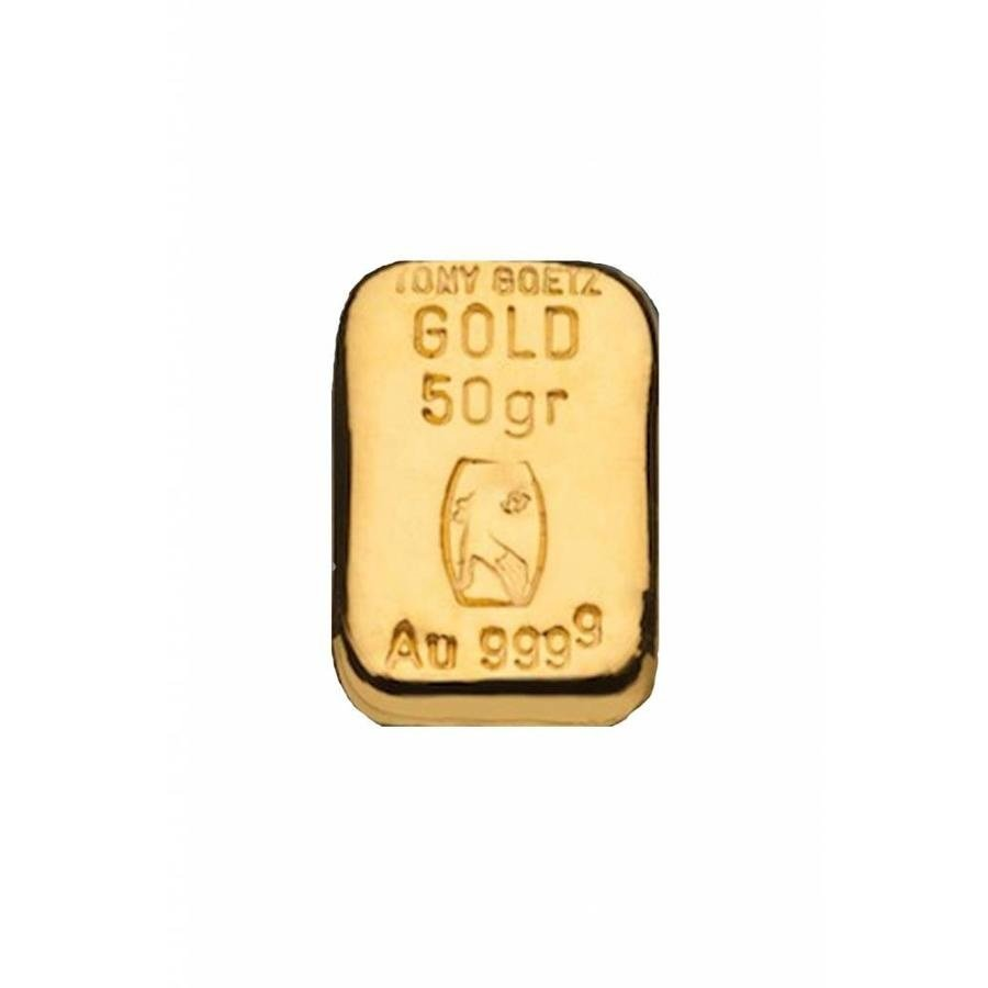 TONY GOETZ 50g goudbaar 999.99