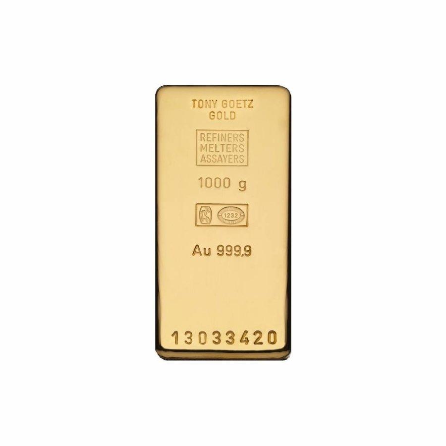1000g (1 kilo) goudbaar