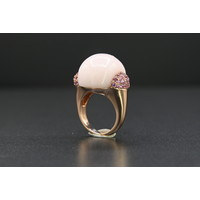 18k Rose gouden ring