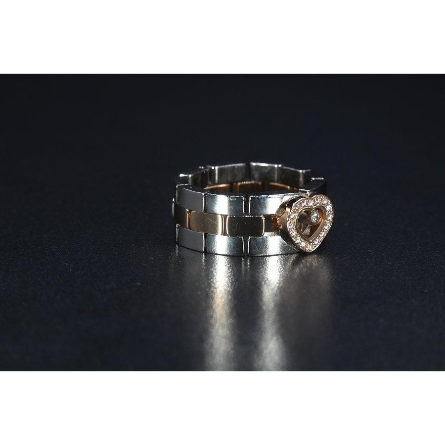 Occasion Chopard ring met briljant