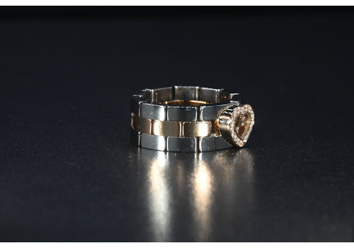 Occasion Chopard ring met briljant