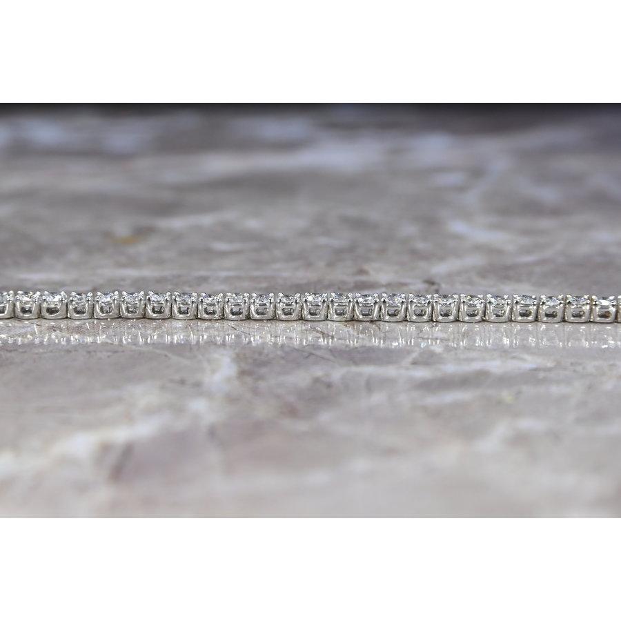 18k Witgouden Tennisarmband
