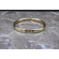 14k Geelgouden Spang armband