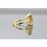 new 18k geel goud ring
