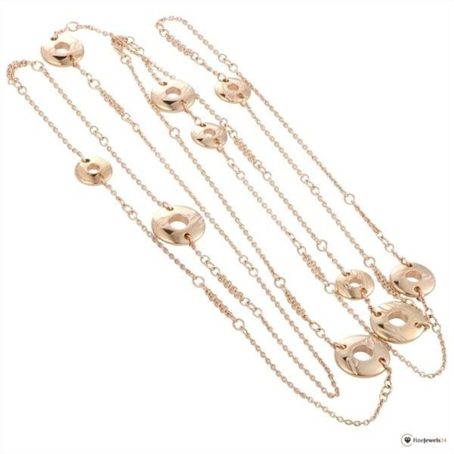 Occasion 18 karaat chopardissimo collier 35.5gr ADE.