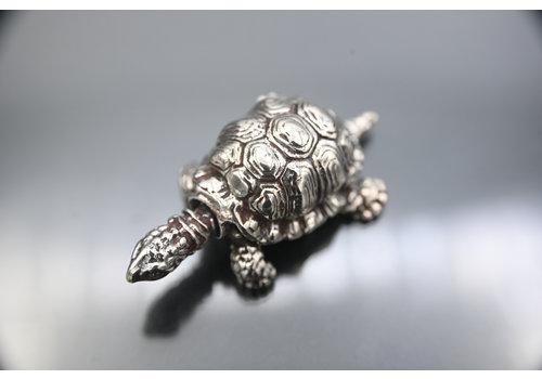 occasion zilver miniatuur schildpad 32 gr