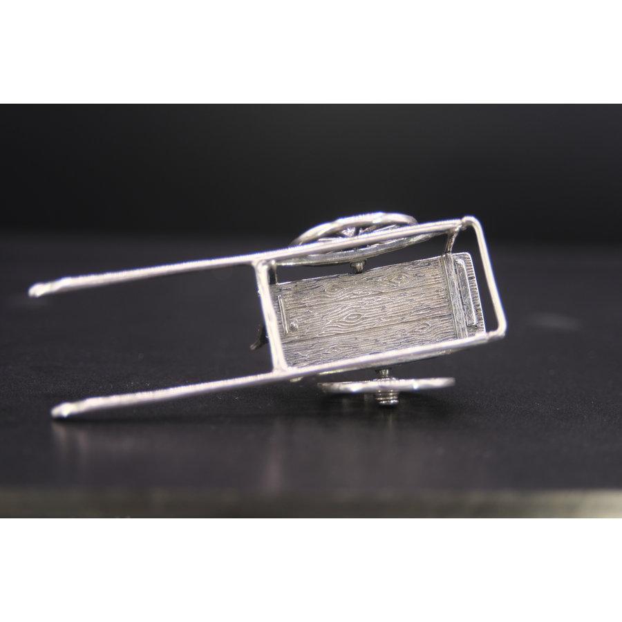 Occasion zilver miniatuur Handkar 39 gr AA.RR