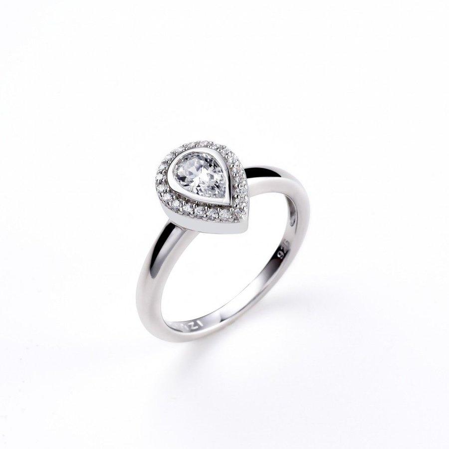 zinzi zir1303 dames ring (peer)
