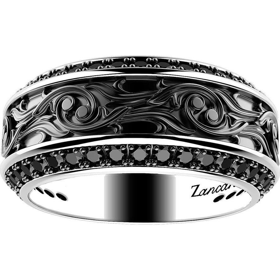 zancan zilver ring exa145  BHR.