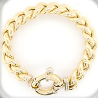 Occasion 18k geel goud armband 36.9 gr BRNH