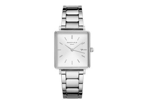 Rosefield Rosefield QWSS-Q042 dames horloge zilver HD.