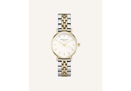 Rosefield Rosefield  26SGD-269 dames horloge bicolor KK.