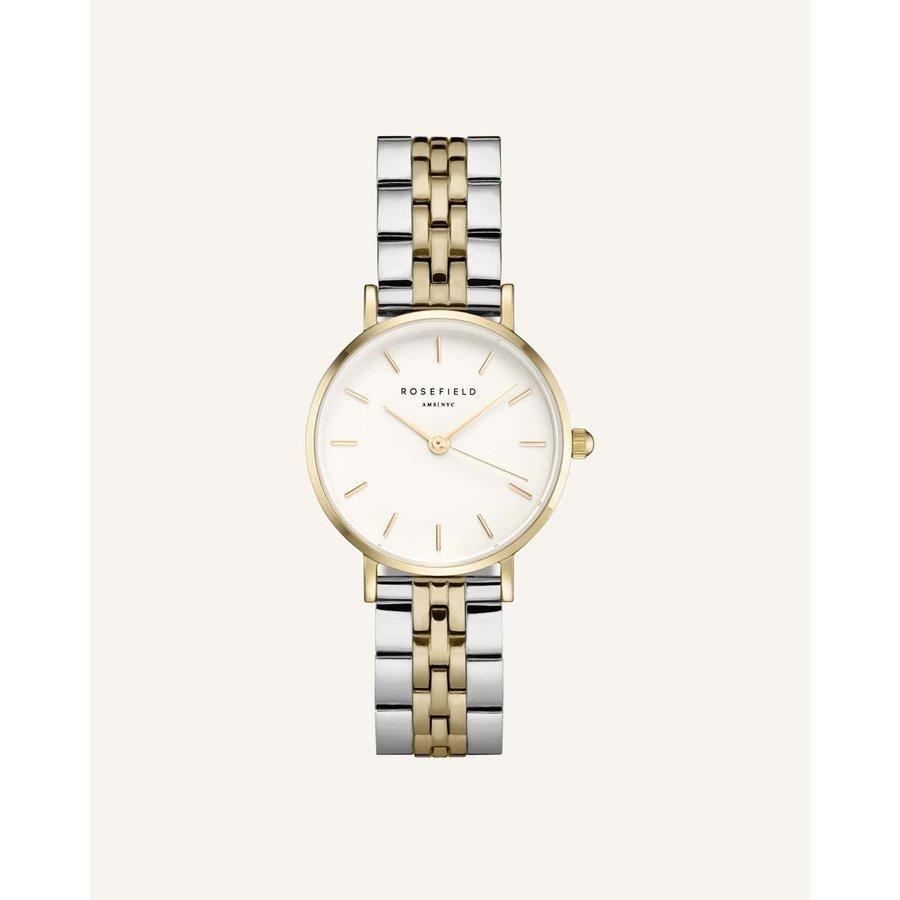 Rosefield  26SGD-269 dames horloge bicolor KK.