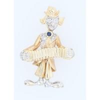 Occasion 14 karaat Clown hanger 5.1 gram