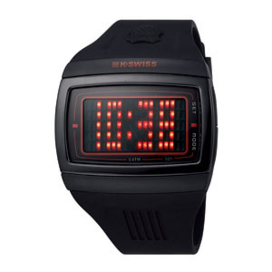 new k.swiss 93-001-502 heren horloge
