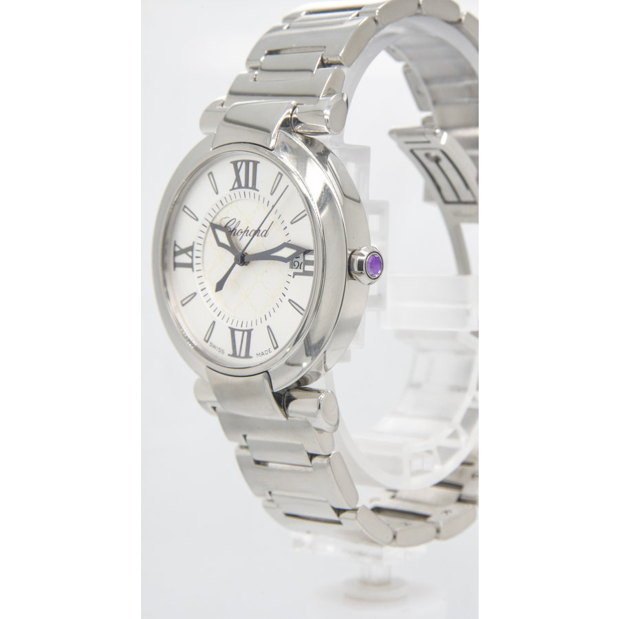 Occasion Chopard imperiale dames  quartz staal band