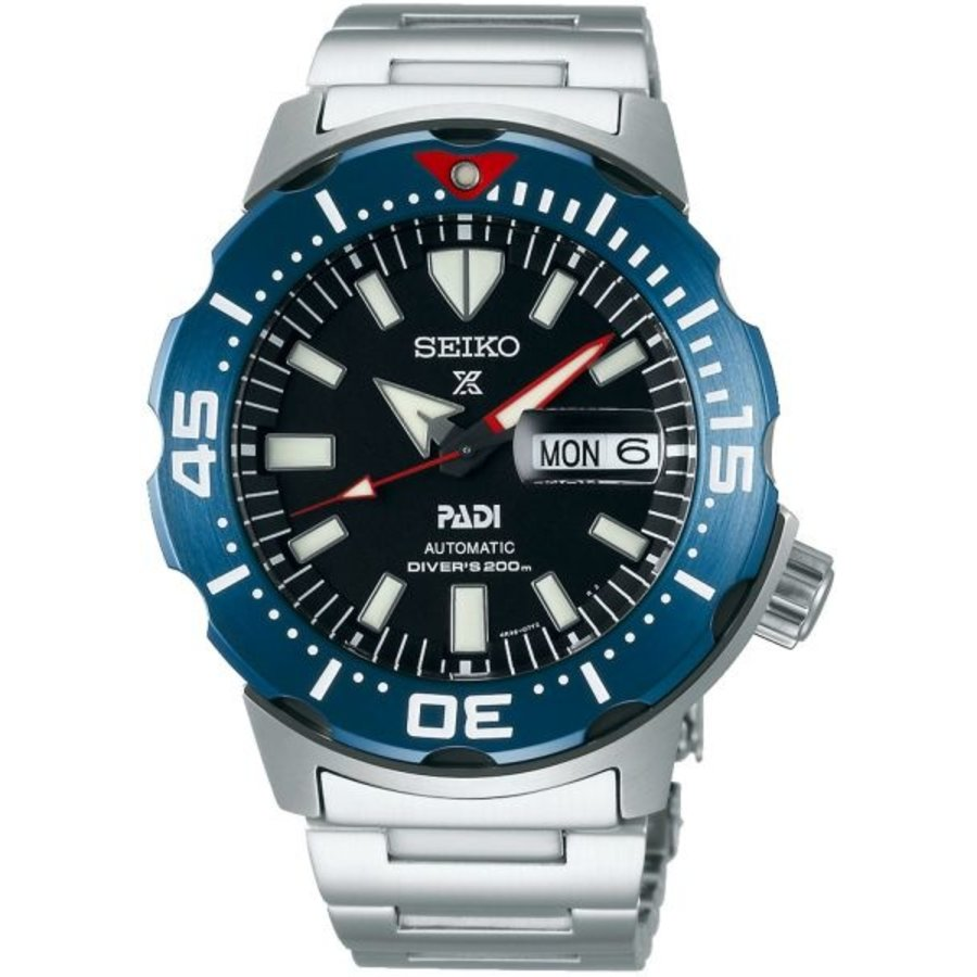 SEIKO PROSPEX SRPE27K1 PHP STAAL BAND
