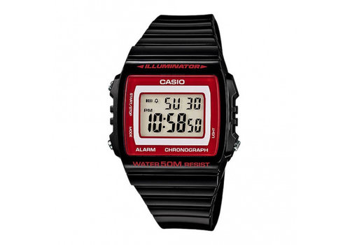 casio W-215H-1AVDF DI HEREN HORLOGE  OR.