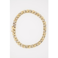 Occasion 14 karaat geel goud armband 11.62 gram