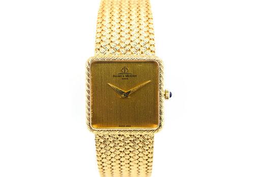 Baume & Mercier Occasion 18 karaat geel goud horloge