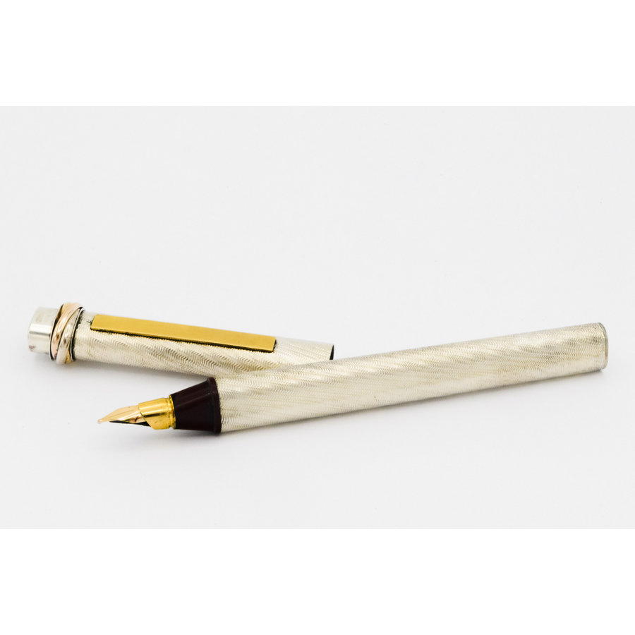 Occasion  goud zilver Cartier pen
