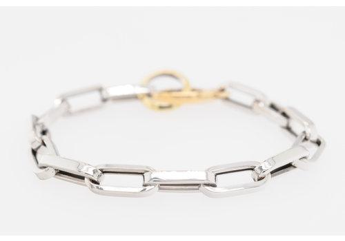 Occasion  18 karaat biolor armband 9.4 gram