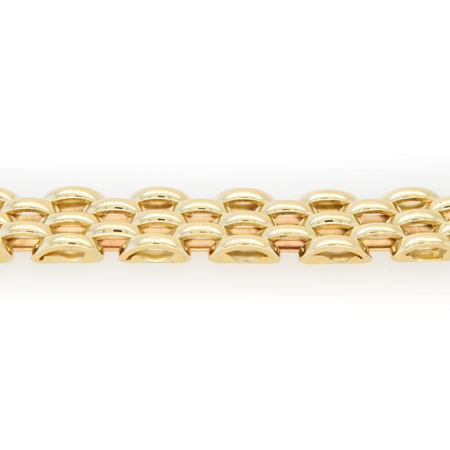 Occasion 14 karaat pantera armband 16.3 gram