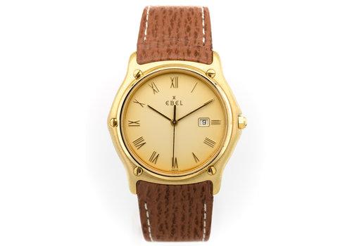 Occasion Ebel 18 karaat heren horloge