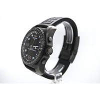 Occasion Breitling heren horloge staal/rubber band