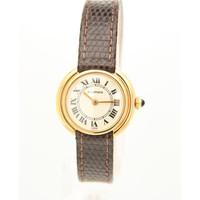 Occasion Cartier 18 karaat goud dames horloge