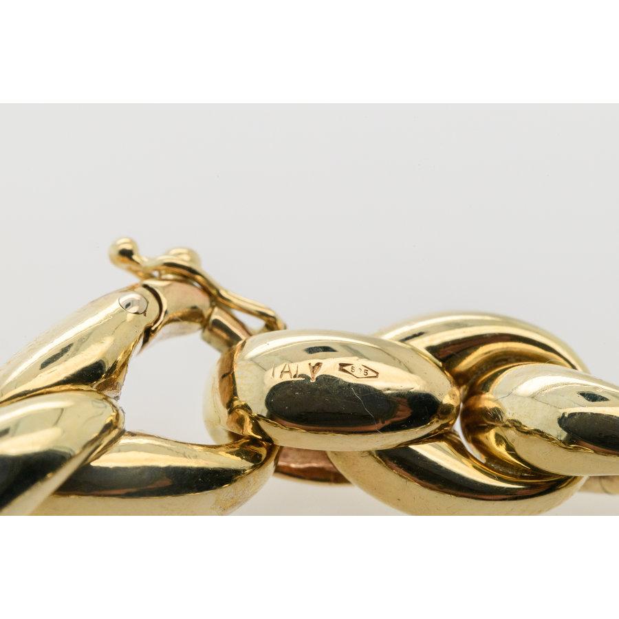 Occasion 14 karaat geek goud Palmier 24.9 gram