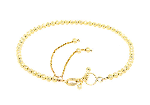 Nieuw 14 karaat geel goud armband 5.1 gram pols lengte 18.5 cm