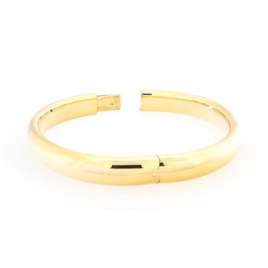 Occasion 14 karaat geel goud stijve armband 20.1 gram