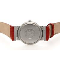 Occasion Omega dames horloge met rood band